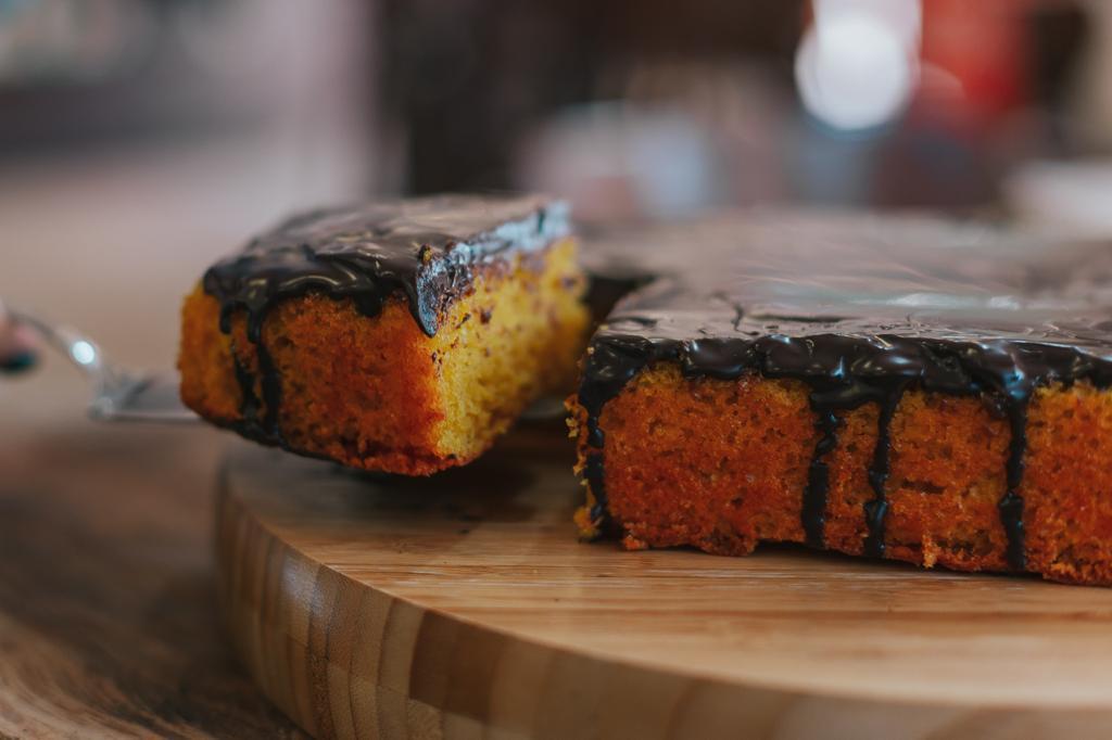 A história do bolo de cenoura