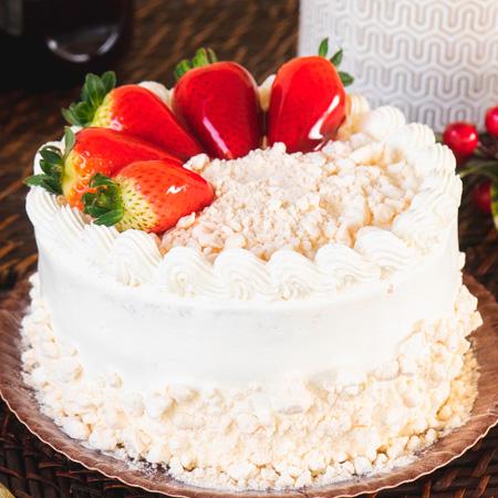 Torta Morango Nata
