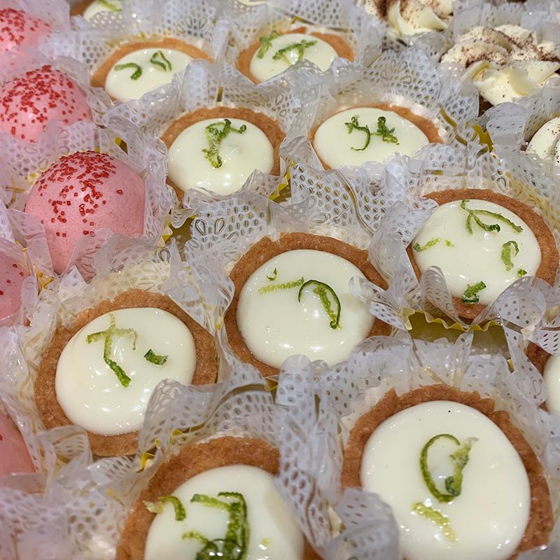 Mini Tortinhas de Limão
