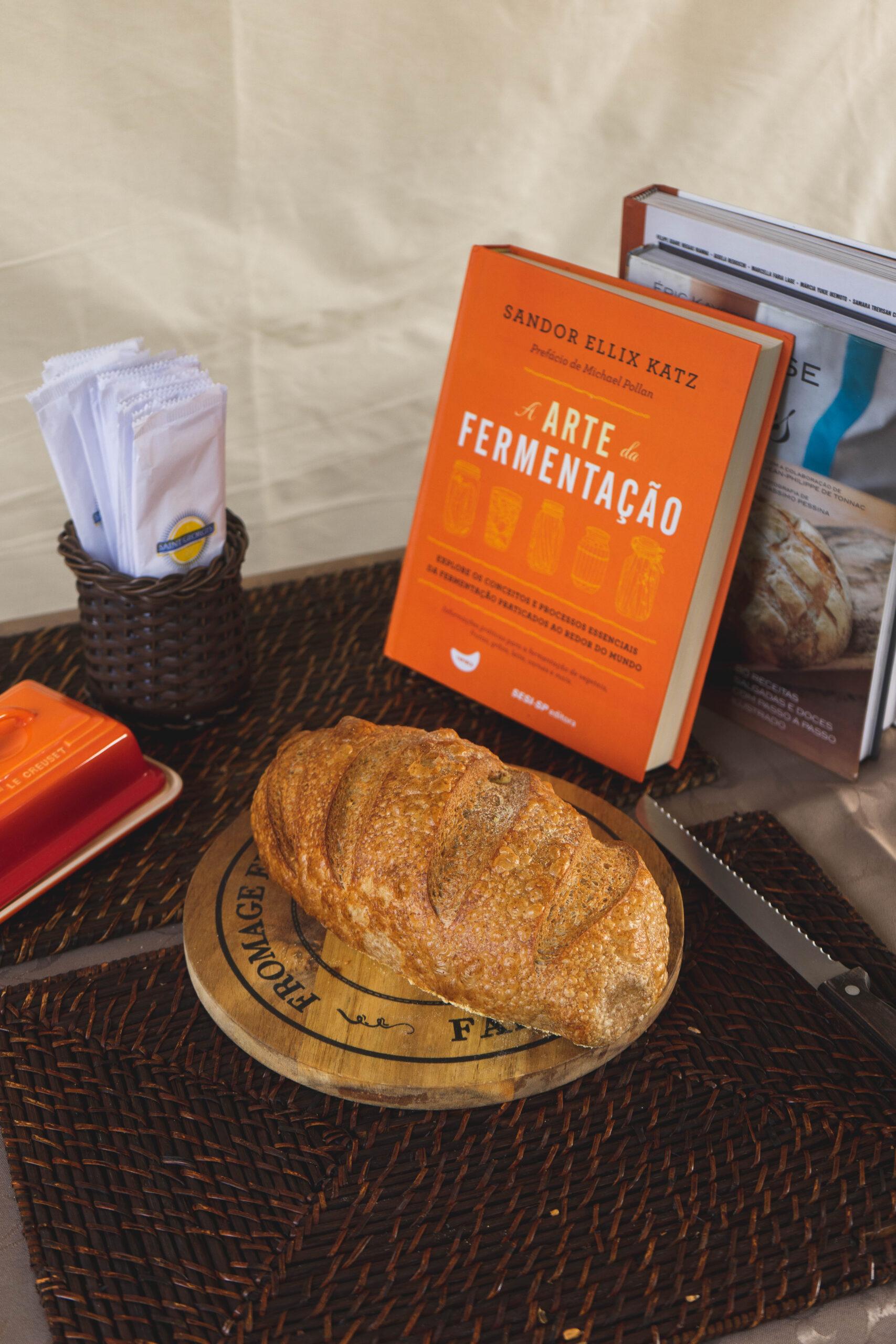 O pão e a fermentação natural
